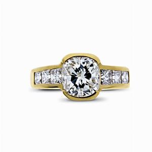 Cushion Cut Diamond Engagement Ring - 1.25ct